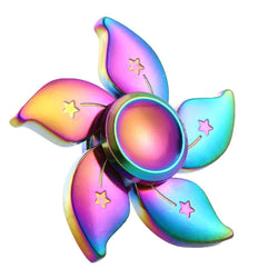 Rainbow Flower Fidget Spinner