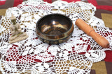 Himalayan Hand Hammered Tibetan Singing Bowl to Enhance Chakra and Yoga Meditation