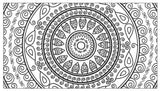 Mandalas Flower Coloring Book To Help Relieve Stress