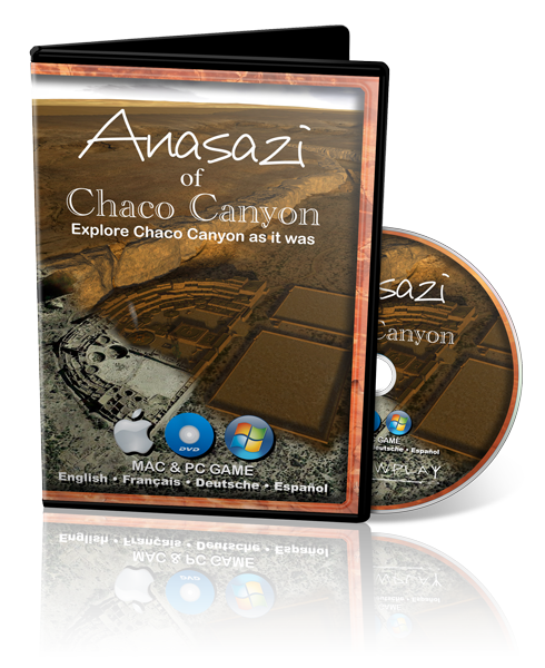 DVD Disk (Mac & PC) Chaco Canyon Simulation