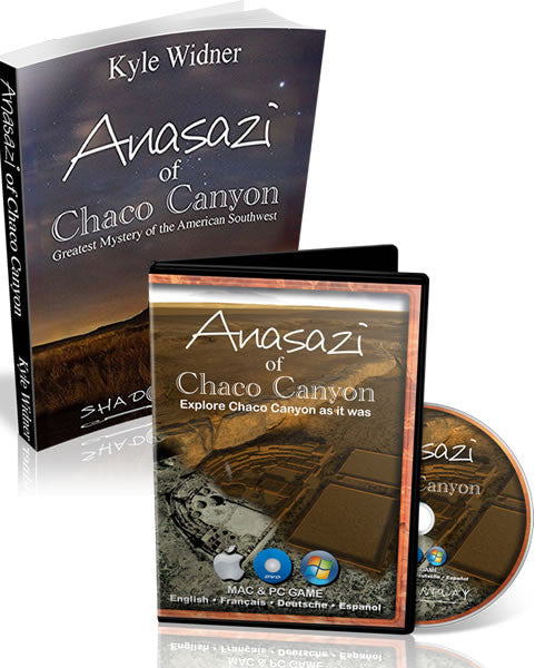 DVD + Signed Book: Chaco Canyon Simulation