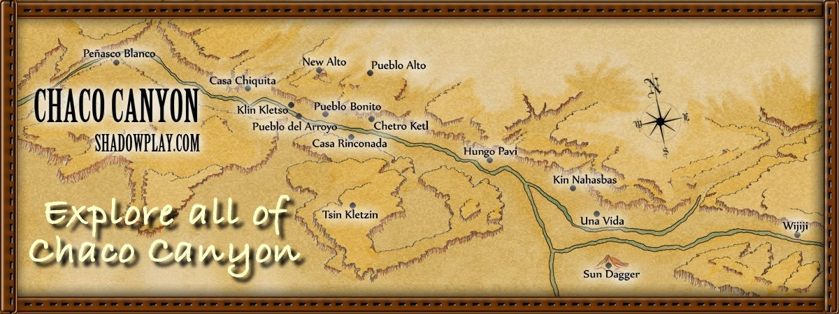 map of chaco canyon