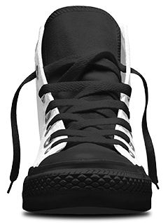 High Top Front View