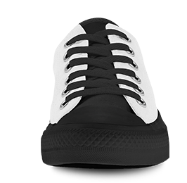 Low Top front view