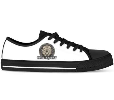 Design Your Own - Black Low Tops