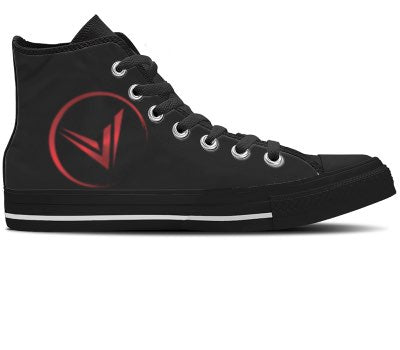 Design Your Own - Black High Tops