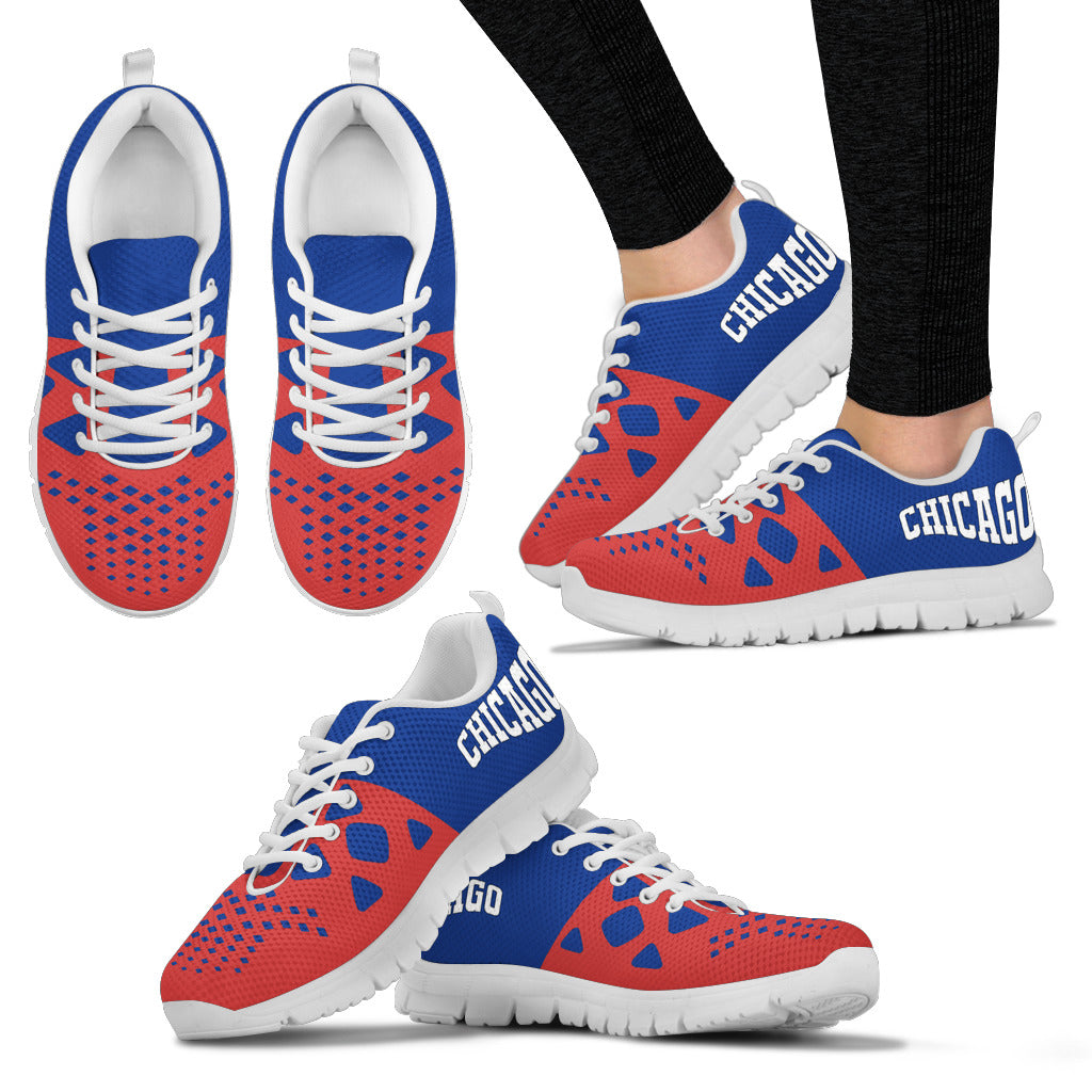Chicago Cubs Colors - CustomKiks Shoes