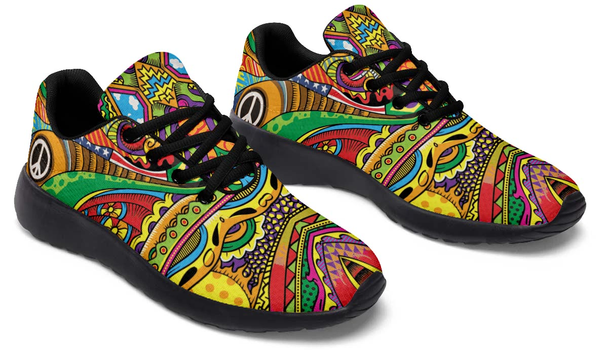 Peace Of Color Sports Sneakers