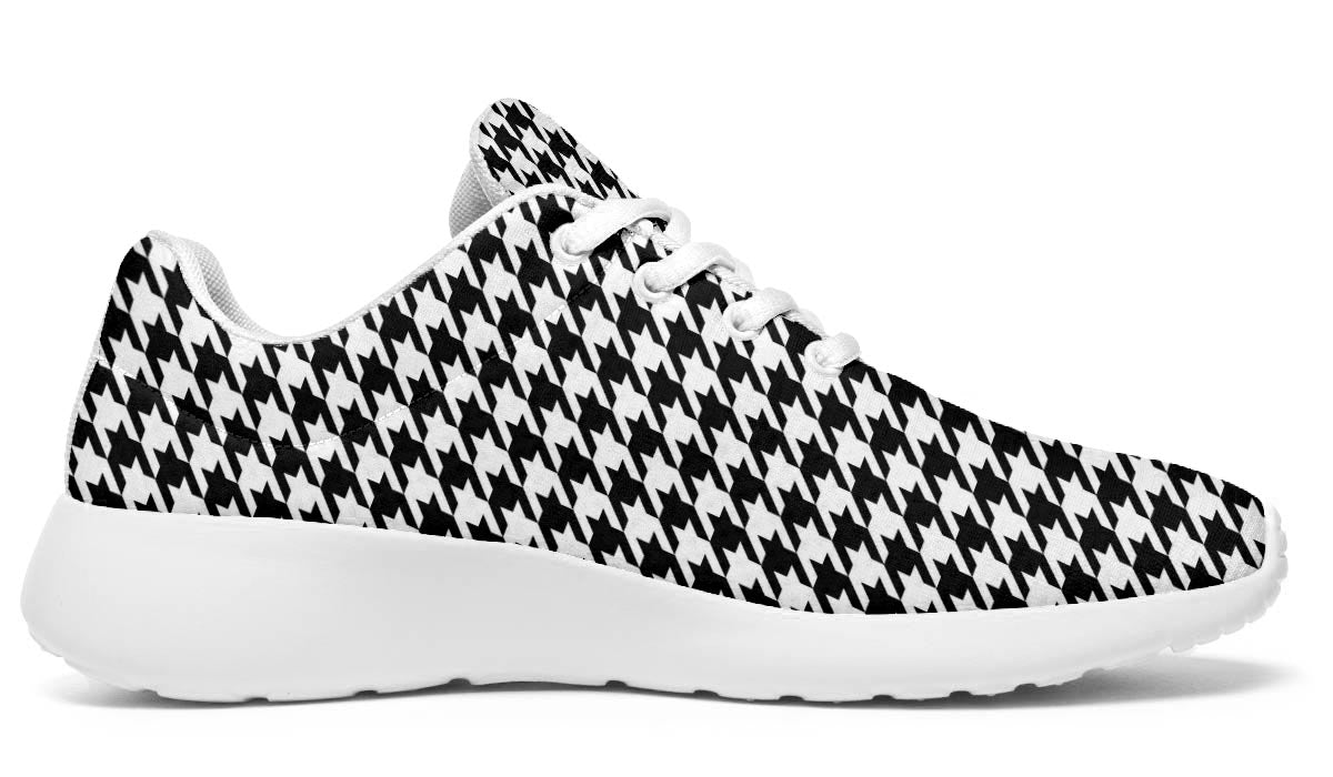 Timeless Houndstooth Sneakers