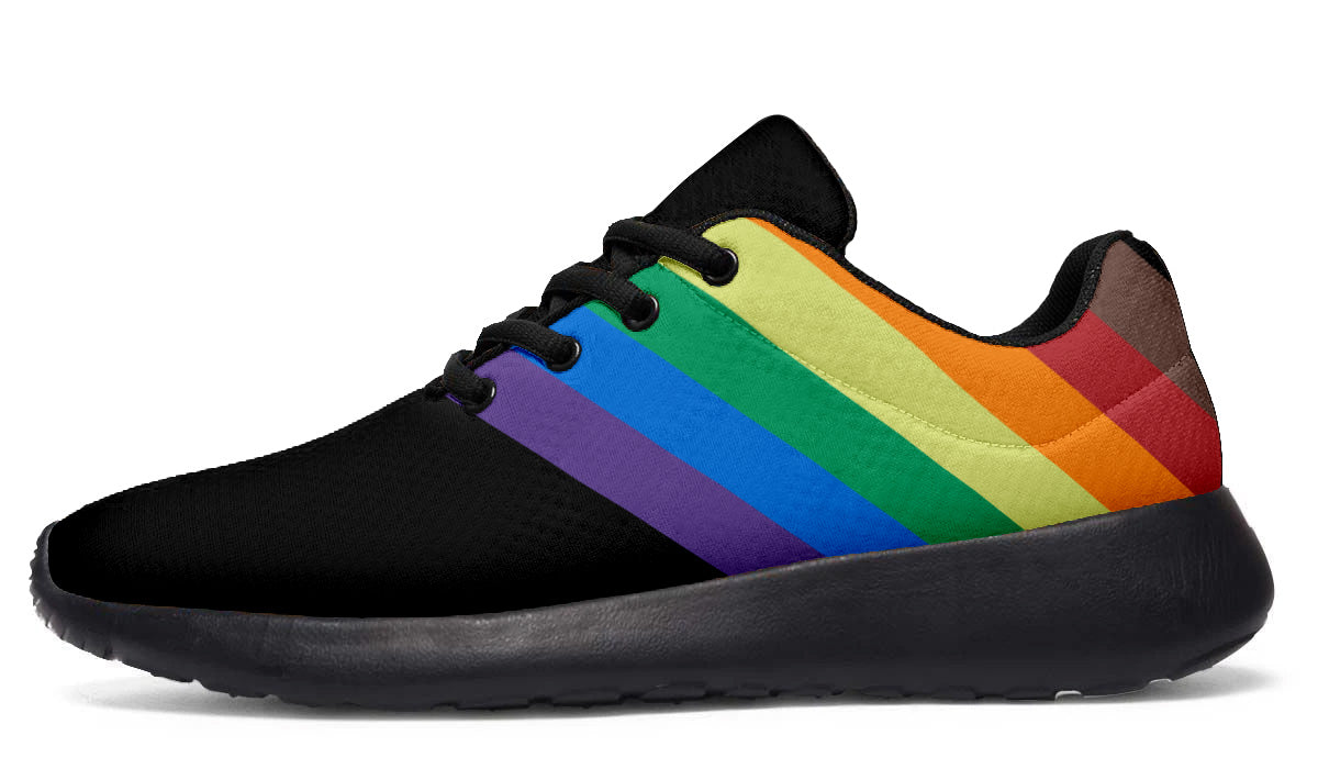 Rainbow Band Sneakers