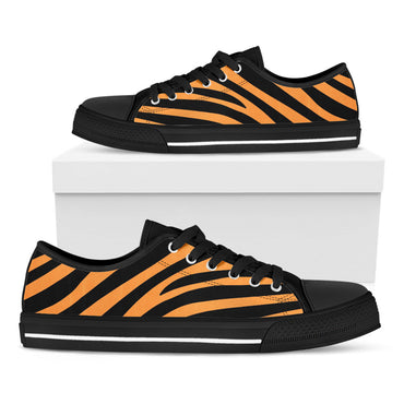 Tiger Stripes Casual Shoes - CustomKiks Shoes