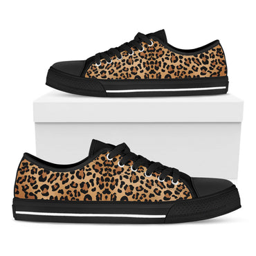 Leopard Print Casual Shoes - CustomKiks Shoes