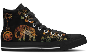 Ethnic Elephant - CustomKiks Shoes