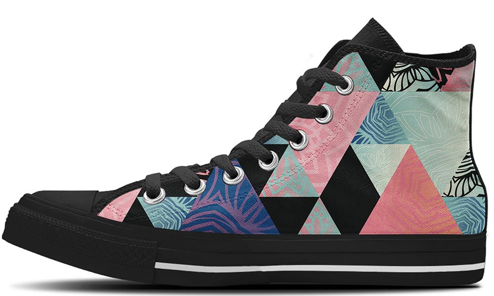 Triangles - CustomKiks Shoes