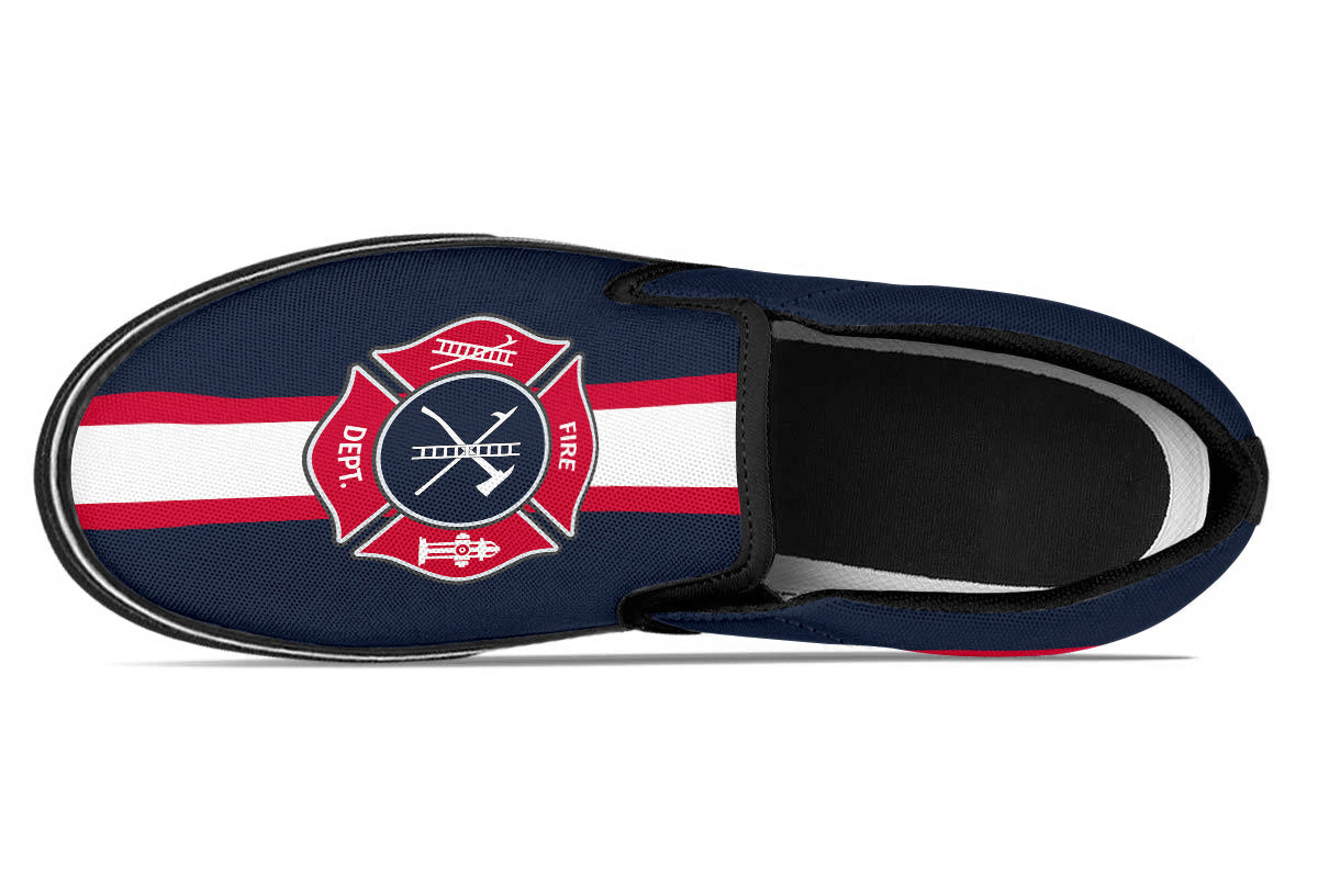 Firefighter Slip Ons