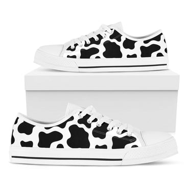 Cow Print Casual Shoes - CustomKiks Shoes