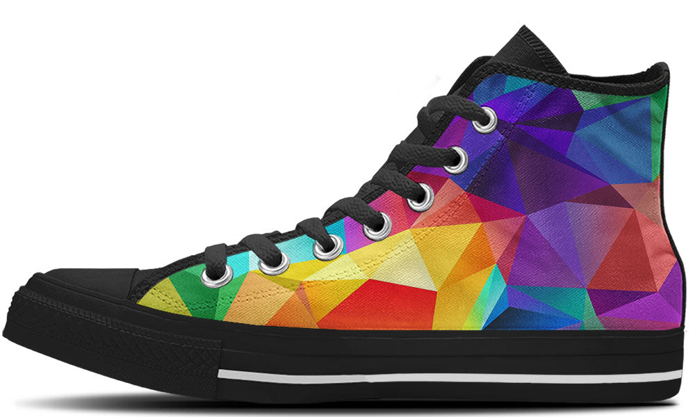 Multicolor Prism High Tops