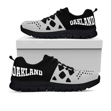 Oakland Raiders Colors - CustomKiks Shoes