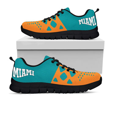 Miami Dolphins Colors - CustomKiks Shoes