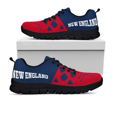 New England Patriots Colors - CustomKiks Shoes