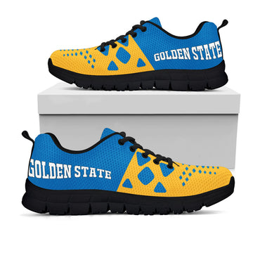 Golden State Warriors Colors - CustomKiks Shoes