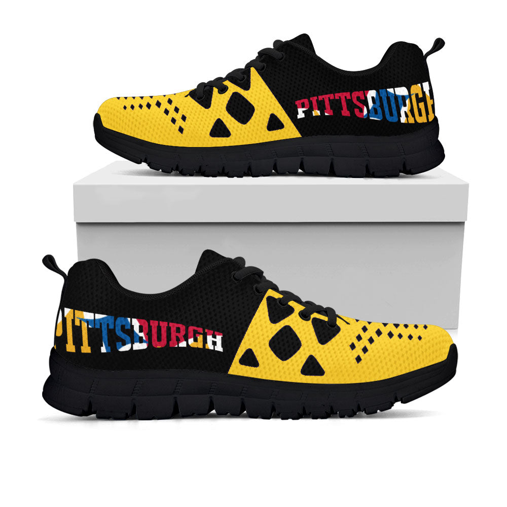 Pittsburgh Steelers Colors - CustomKiks Shoes
