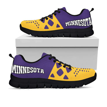 Minnesota Vikings Colors - CustomKiks Shoes