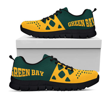 Green Bay Packers Colors - CustomKiks Shoes