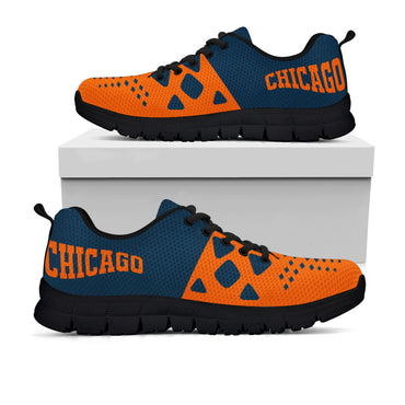 Chicago Bears Colors - CustomKiks Shoes