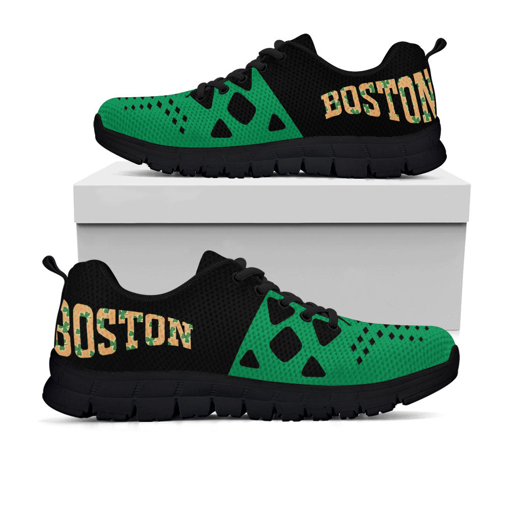 Boston Celtics Colors - CustomKiks Shoes