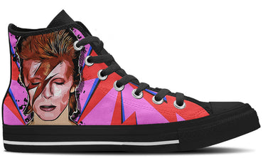 David Bowie High Tops