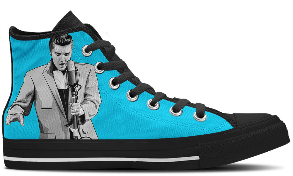 Elvis Presley High Tops