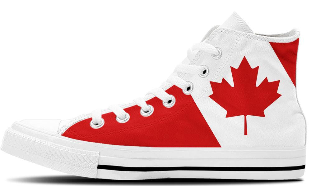 Canadian White - CustomKiks Shoes