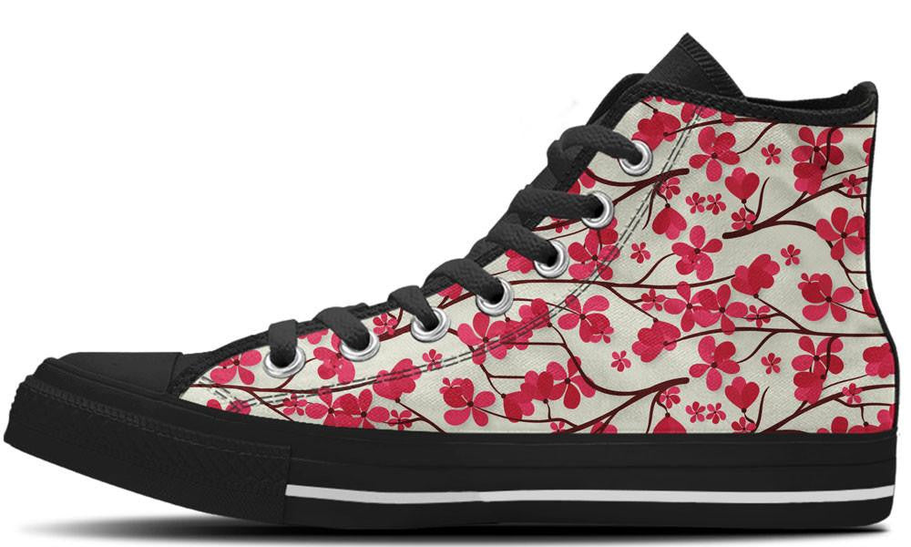 Cherry Blossom - CustomKiks Shoes