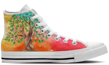 Eden White - CustomKiks Shoes