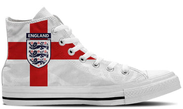 England White - CustomKiks Shoes