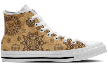 Ethnic Earth White - CustomKiks Shoes