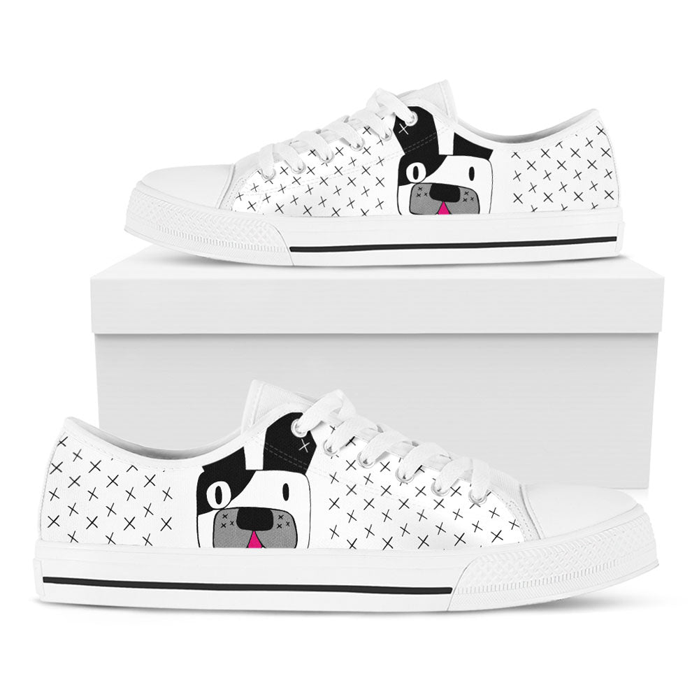 Frenchie White Casual Shoes