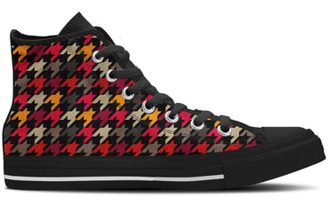 Houndstooth - CustomKiks Shoes