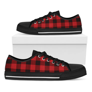 Plaid Casual Shoes