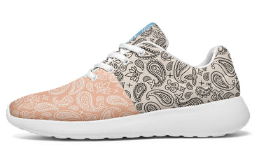Mixed Pastel Paisley Sneakers