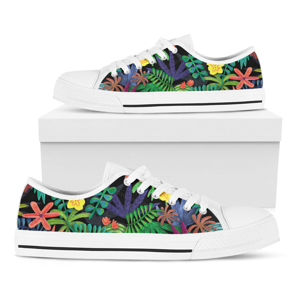 Tropical Foliage Casual Shoes