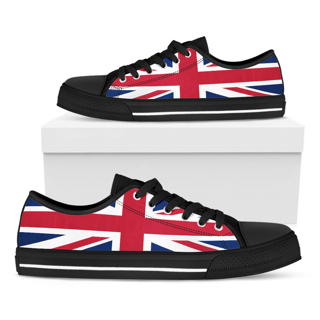 UK Flag Casual Shoes