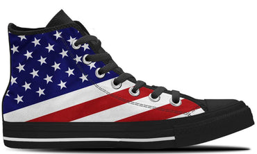 USA Flag - CustomKiks Shoes