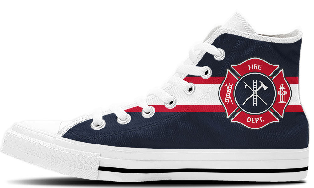 Firefighter High Tops