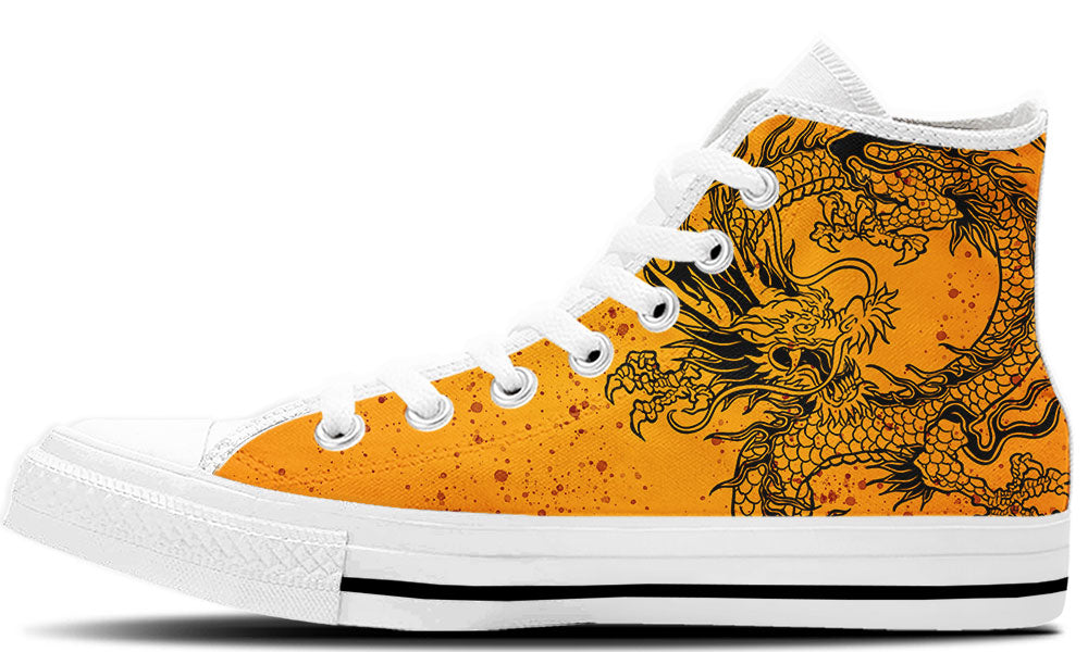 Bruce Lee High Tops