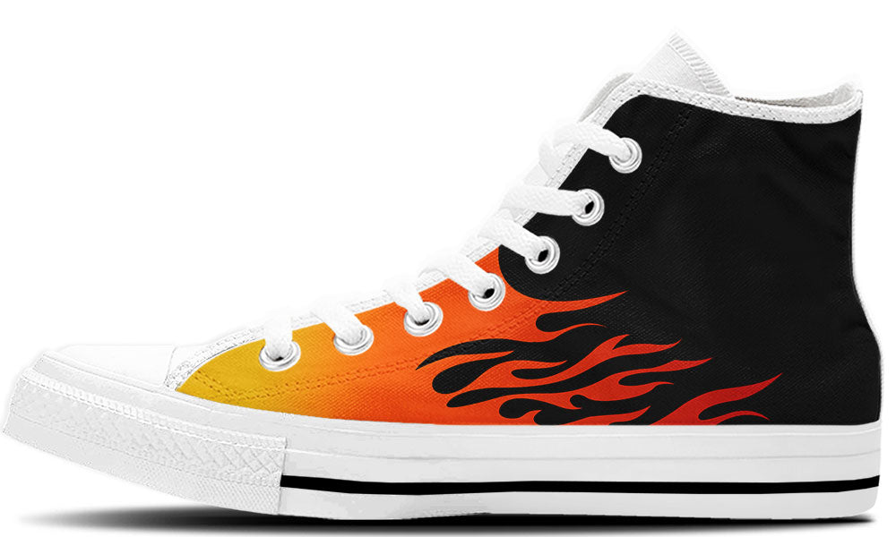 Flames High Tops