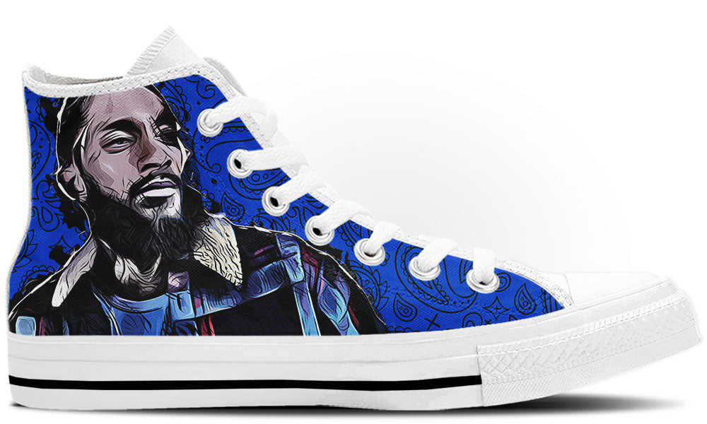 Nipsey Hussle High Tops
