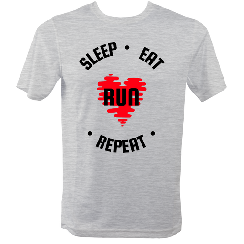 Sleep, Eat, Run, Repeat. Running T Shirt