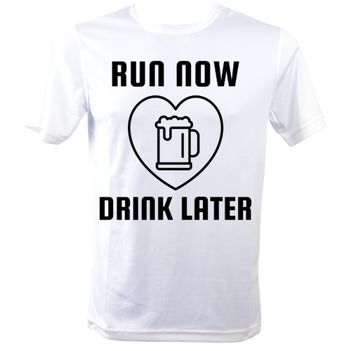 Funny Running T Shirt with quote